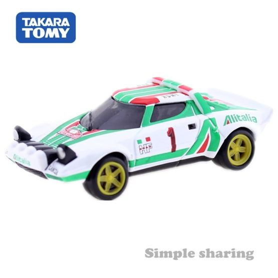 Takara Tomy Tomica Premium No. 19 Lancia Stratos HF Rally 1.58 Scales Racing Car