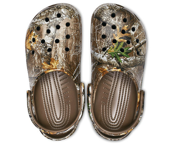 Crocs 205413 Classic Realtree Edge® Clog size M6,8