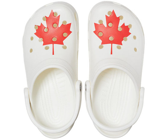 Classic Canadian Flag Clog M9
