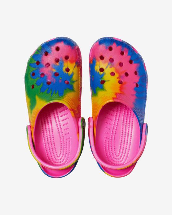 Crocs Classic Tie-Dye Graphic Clog size M4W6