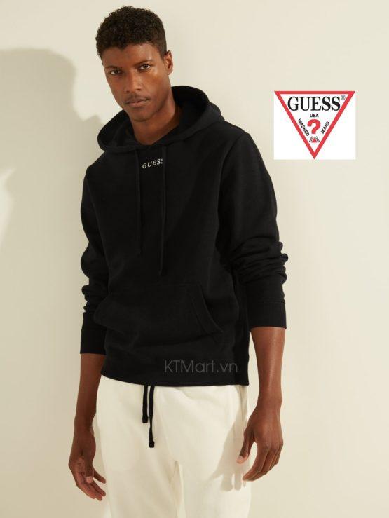 Áo nỉ GUESS M0GQ03R44Q7 Eco Roy Embroidered Logo Hoodie black size M, L, XL