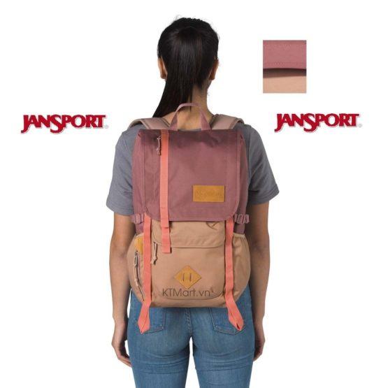 Balo JanSport Hatchet Backpack in Soft Mohair JS0A47J4 JanSport