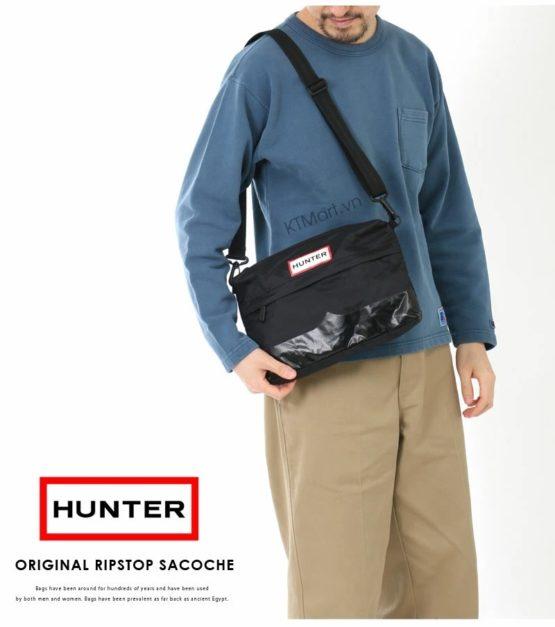 Túi đeo chéo Hunter Original Ripstop Sacoche Side Bag Hunter