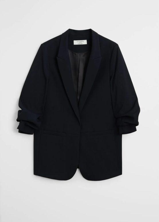 Mango 77032878 Structured suit blazer size S