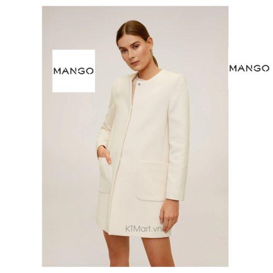 Áo khoác Mango Straight Cut Coat 67094408 Mango