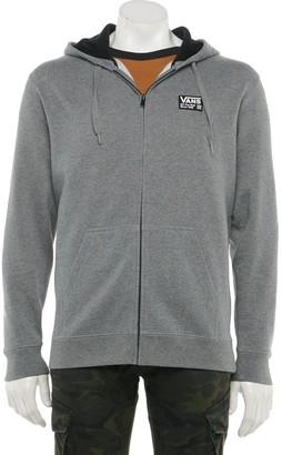 Men's Vans® Combo Full-Zip Fleece Hoodie size M