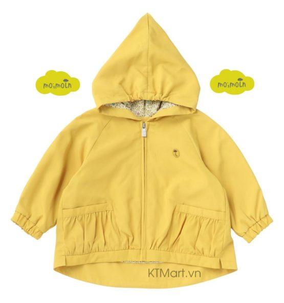 Áo khoác nhẹ Moimoln Hooded Haley Zip Blouson W211JMB29P size 90