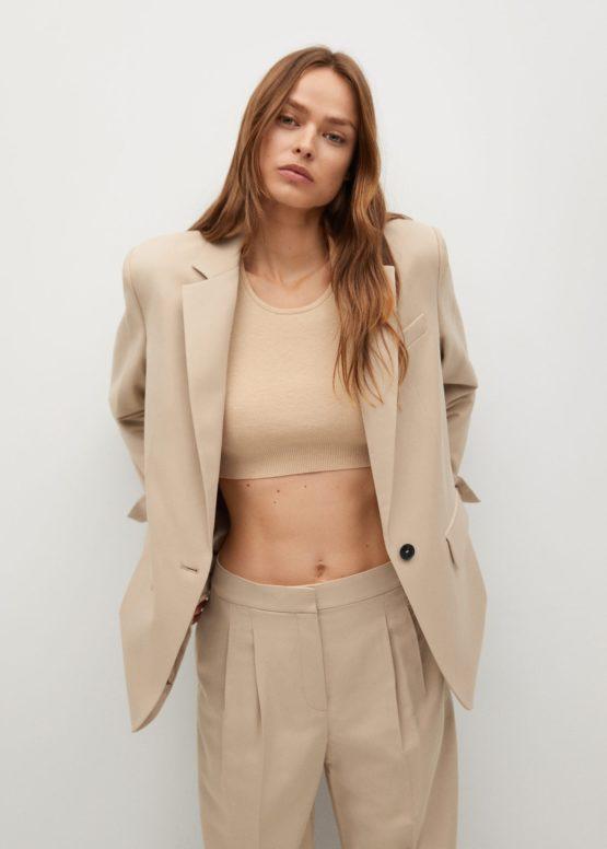 Mango 87044023 Oversized suit jacket size 34(EU)
