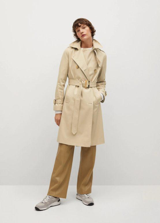 Mango 87082881 Classic water-repellent trench coat size S